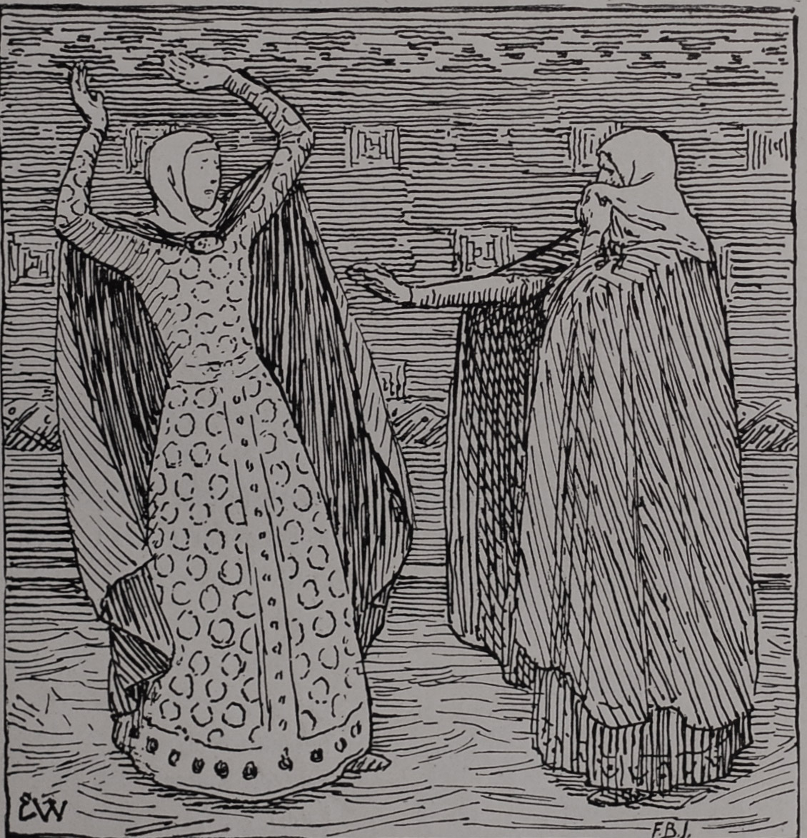 Queen Álöf hin Ríka and Queen Yrsa