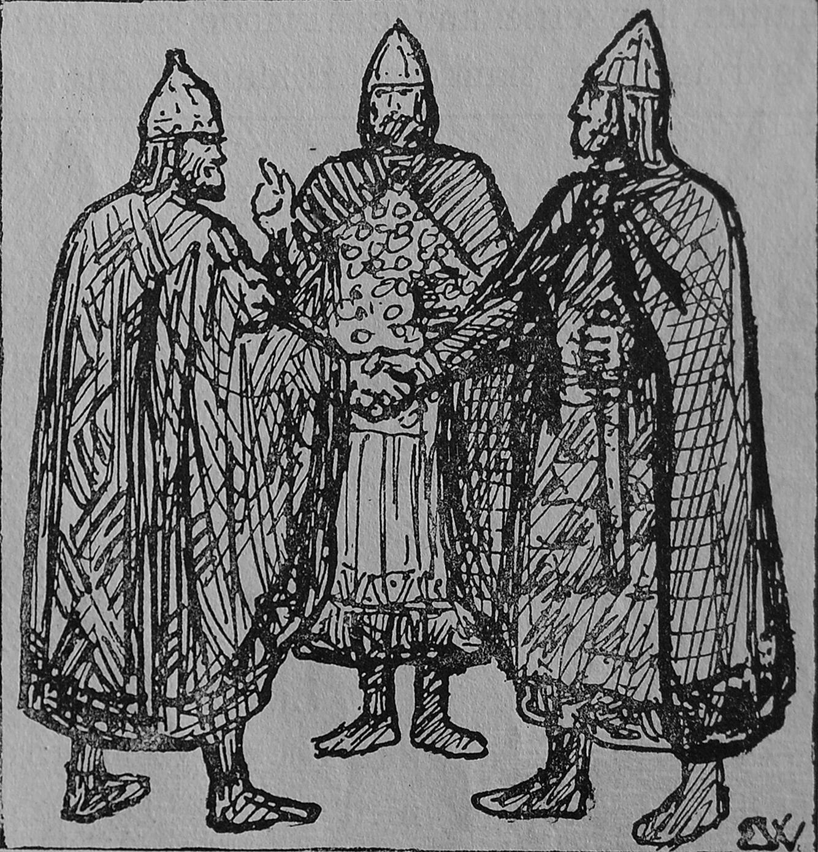 King Ingjald Making Peace