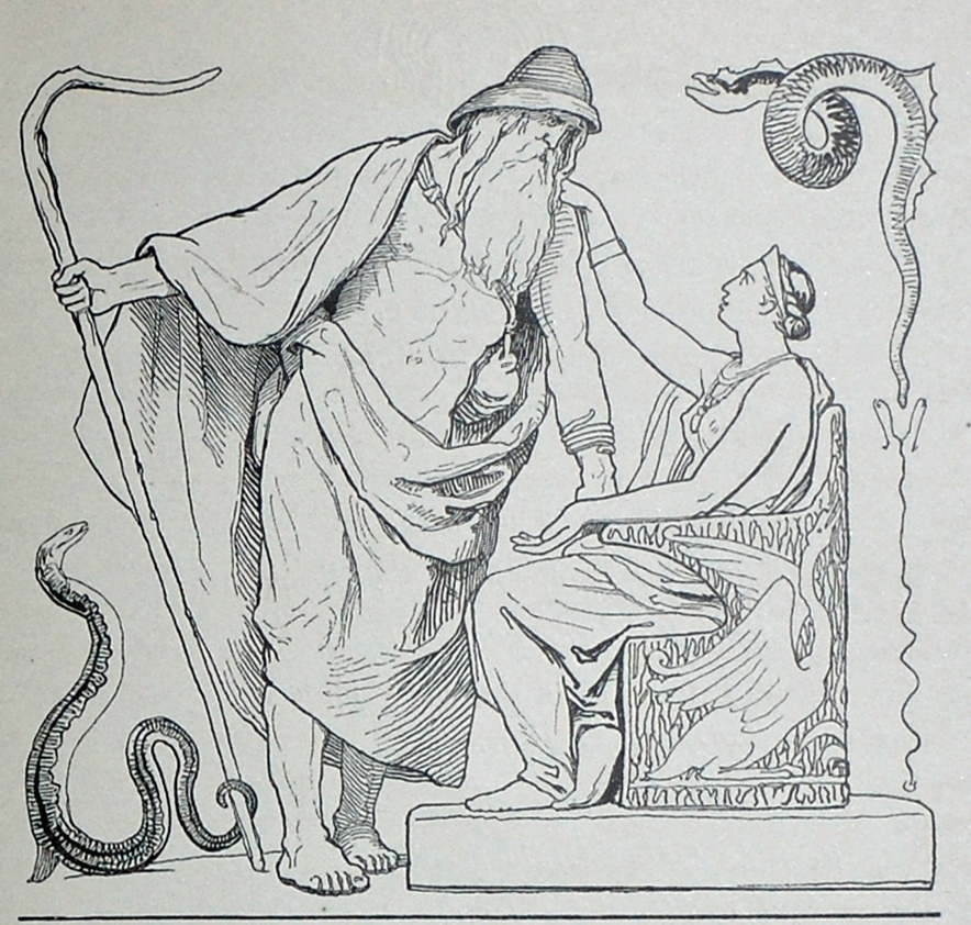 Óðinn and Frigg