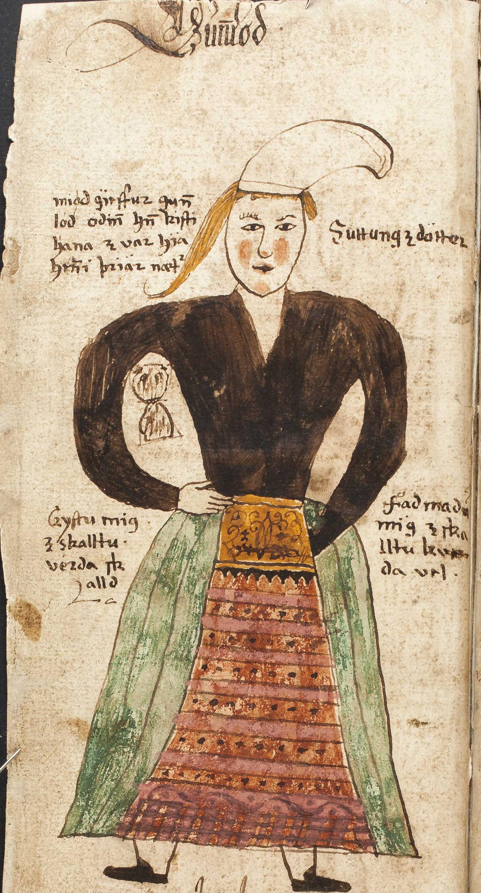 Gunnlöð the Giant´s Daughter