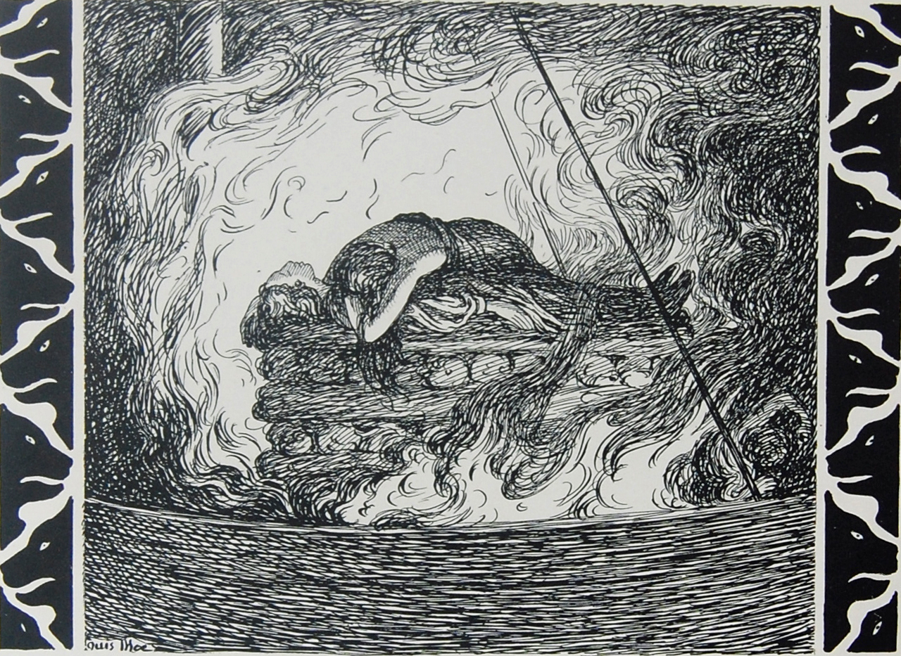 Baldr's Funeral Pyre
