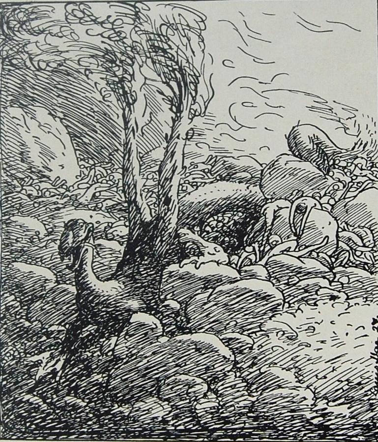 Níðhöggr at Ragnarök