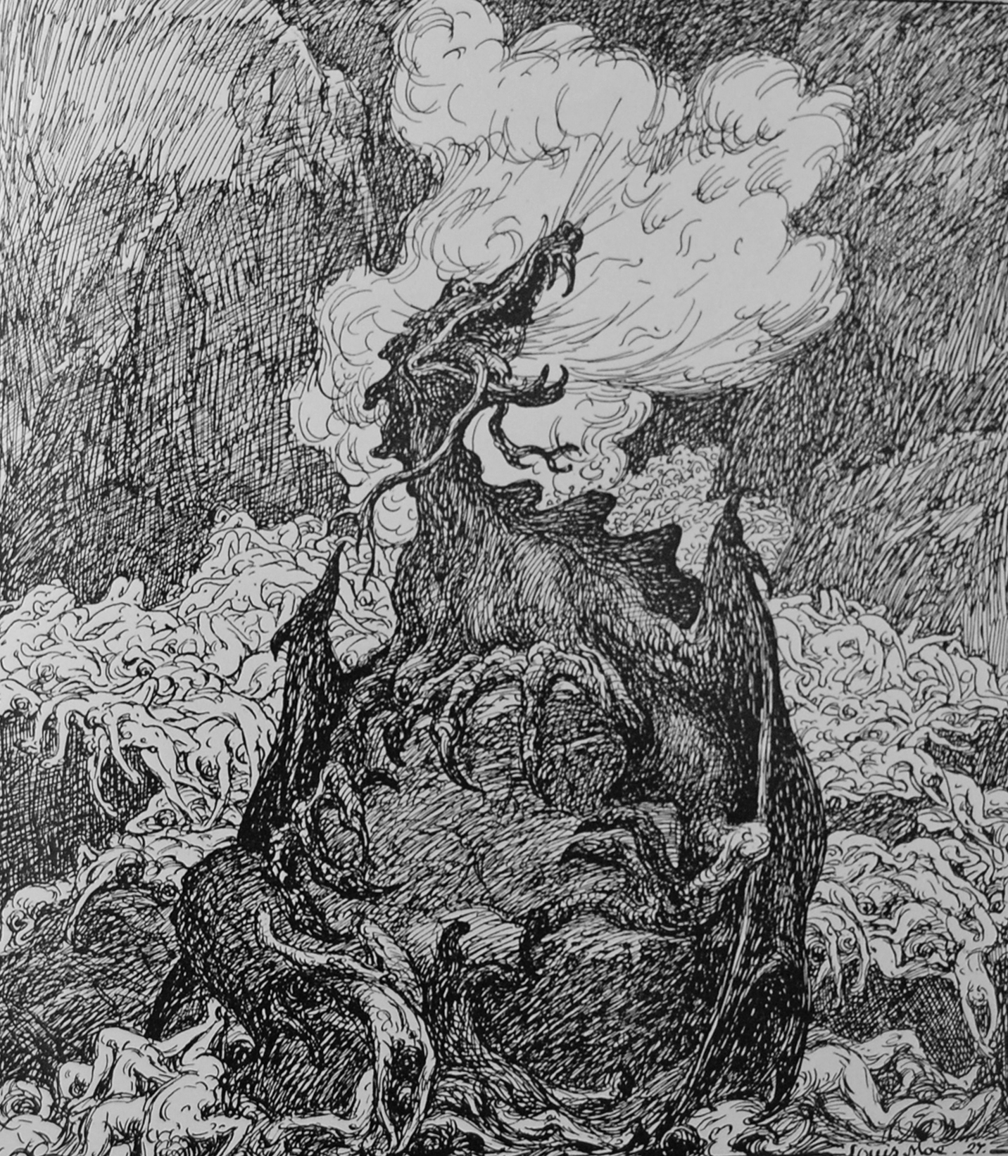 Níðhöggr at Ragnarök