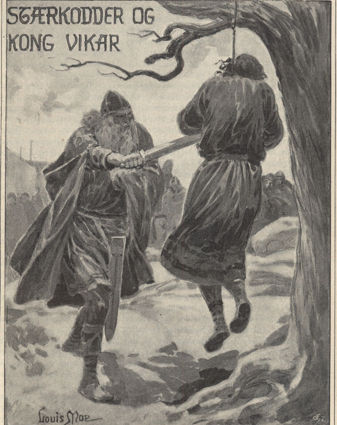 Starkaðr and the Death of King Víkarr