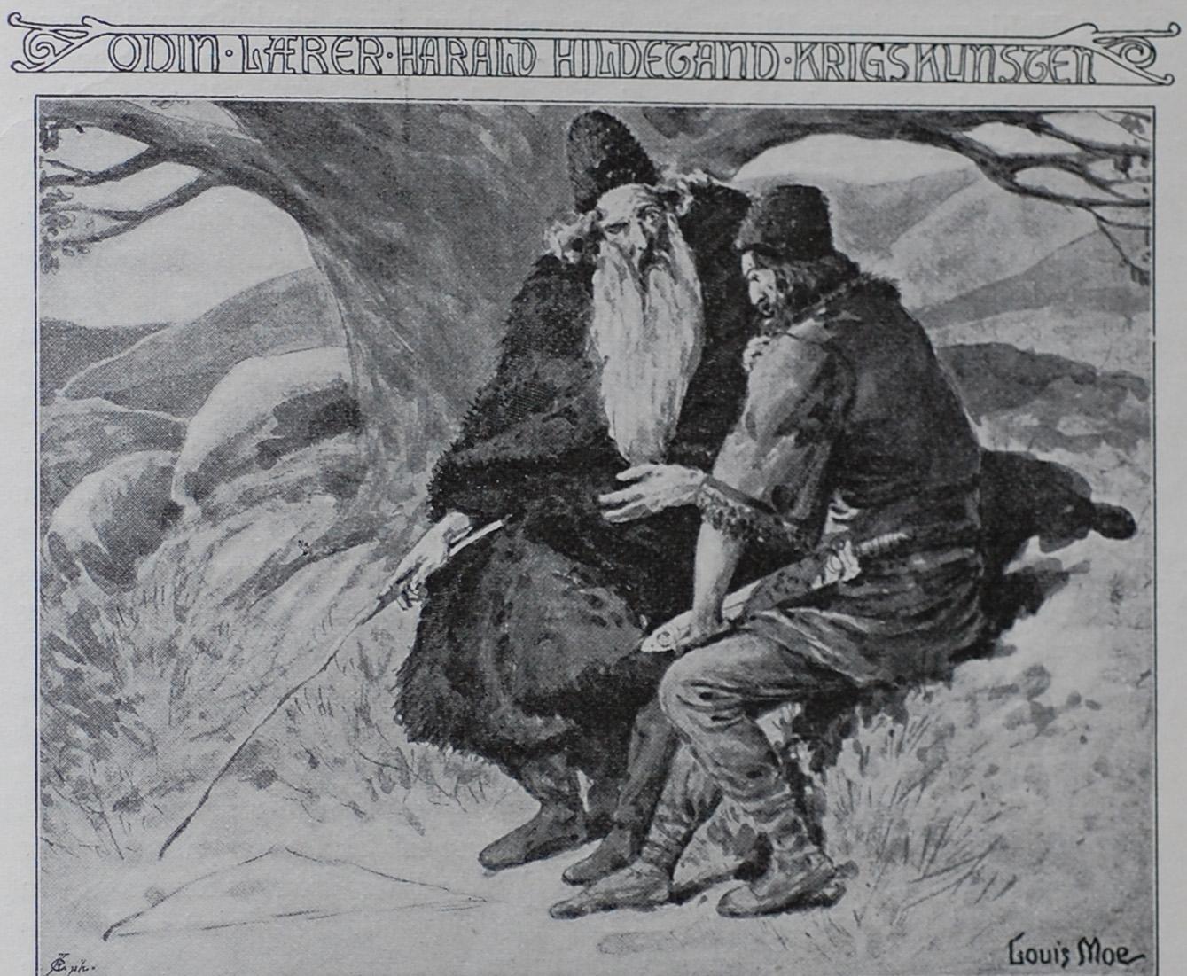 Óðinn Teaching the Art of War