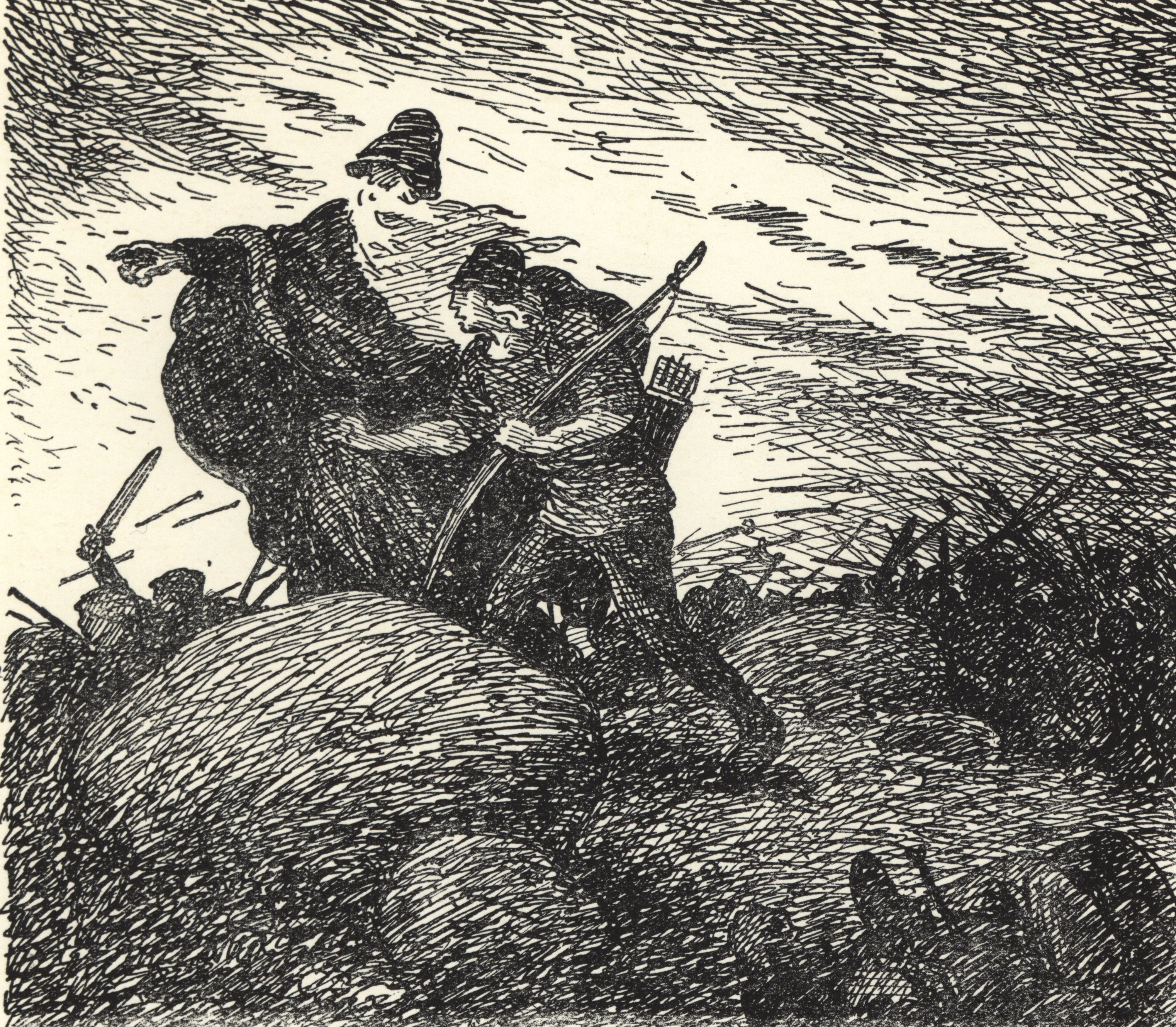 Óðinn and the Archer