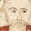 Digital image of the illustration on f.33v of the AM 738 4to manuscript.