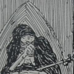 Digital image of the illustration on page [20] of Louis                             Moe's Ragnarok: En Billeddigtning.